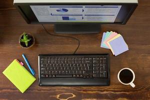 kantoor werkplek foto