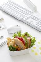 lunch op kantoor foto