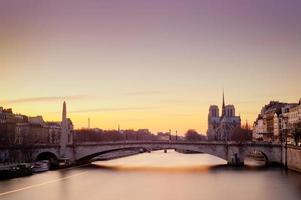 notre dame de paris - Frankrijk foto