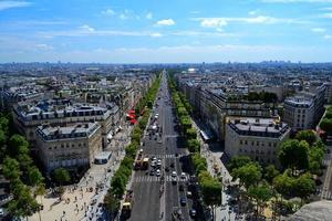 Avenue des Champs Elysees, Parijs