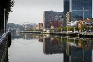 isozak torens. Bilbao. vizcaya. Baskenland. Spanje. Europa. foto
