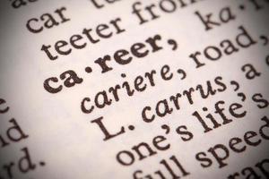carrière definitie foto
