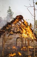 huisbrand foto