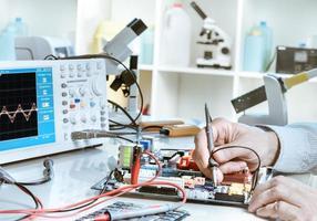 reparatie van elektronica foto