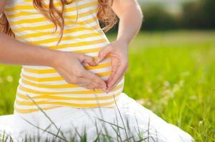 zwangerschap foto