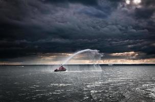 brandweerboot foto