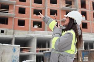 bouwplaats manager foto