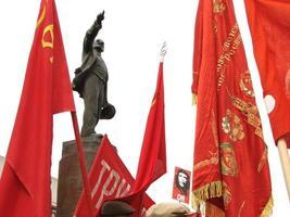 communistische bijeenkomst foto