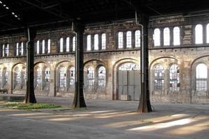 verlaten fabriek foto