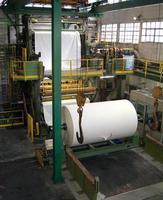 papier- en pulpfabriek foto