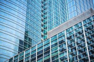 moderne glazen wolkenkrabber achtergrond