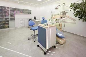 moderne tandheelkundige kast foto