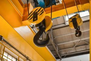 industriële crain close-up foto