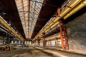elektriciteitsdistributiehal in de metaalindustrie foto