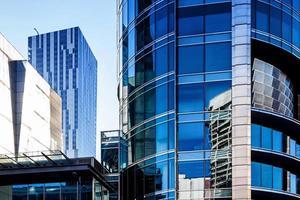 moderne architectuur kantoorgebouwen foto