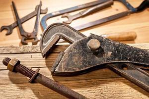 oude gereedschappen foto