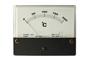temperatuur foto