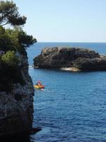 waterfiets op ambitieuze reis foto