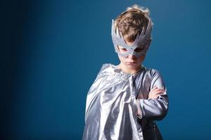 kleine superheld portret foto