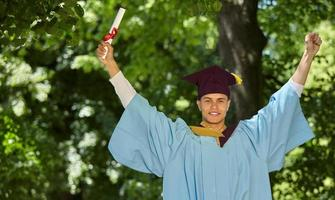 diploma uitreiking foto