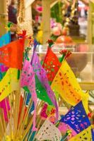 kleurrijke vlag traditie cultuur foto