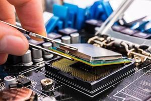 computer herstel foto