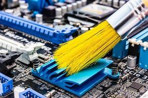 computer schoonmaken foto