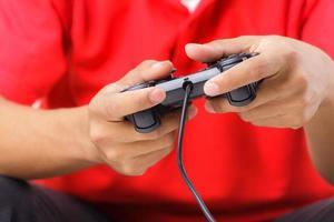 computerspelletjes spelen foto