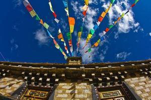 gebedsvlaggen - tiber foto