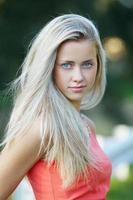 mooi meisje sensueel portret foto