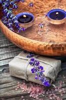 set parfums voor spa-behandelingen foto