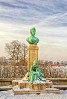 monument voor de prinses marie in Kopenhagen, Denemarken foto