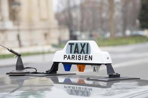 taxi parijs foto