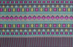 Thaise zijde stof patroon achtergrond foto