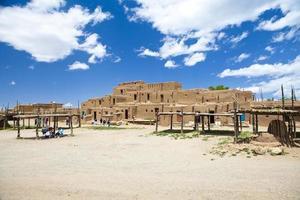 taos pueblo new mexico amerika foto