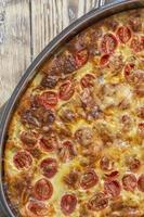 omlette in caserole foto