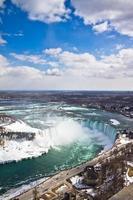 Niagara valt van de toren foto