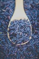 bruine rijst foto