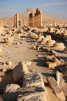 oude stad van palmyra, sirya. foto