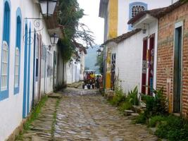 calles de parati, brasil foto