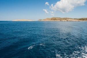 eilanden in de zee, nationaal park kornati, kroatië foto