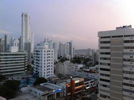 zicht op cartagena appartementen foto