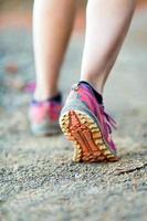 wandelen of hardlopen, avontuur en sporten foto