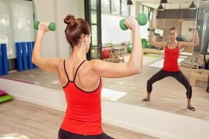 fitnessruimte voor pilates foto