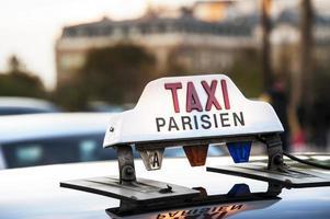 Parijs - taxi foto