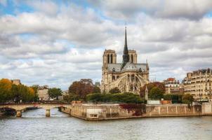Notre Dame de Paris kathedraal foto