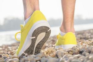 voorbereiden op joggen foto