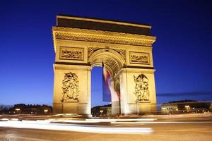 Arc de Triomphe foto