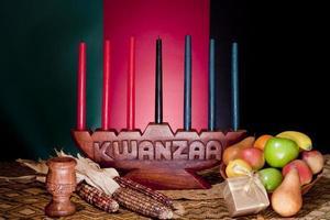 kwanzaa - Afro-Amerikaanse vakantie foto
