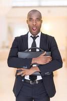 gefrustreerde zakenman. foto